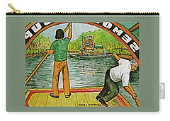 Floating Gardens Xochimilcho Mexico Carry-all Pouch by Frank Hunter