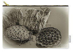 Floating Lotus Seed Pods 2 Carry-all Pouch