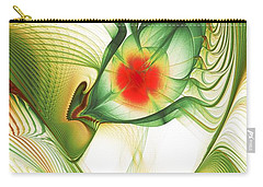 Carry-all Pouch featuring the digital art Floating Thoughts by Anastasiya Malakhova