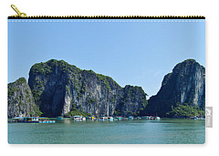 Floating Village Ha Long Bay Carry-all Pouch