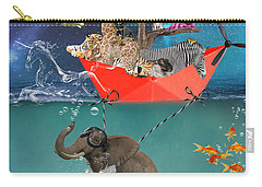 Floating Zoo Carry-all Pouch by Juli Scalzi