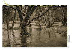Flooded Tree Carry-all Pouch by Charlie Duncan