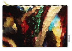 Floral Abstract I Carry-all Pouch by Sharon Elliott