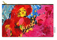 Floral Abstract Part 1 Carry-all Pouch