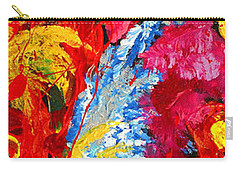 Floral Abstract Part 2 Carry-all Pouch