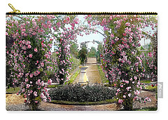 Floral Arch Carry-all Pouch