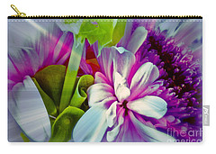 Floral Array Carry-all Pouch