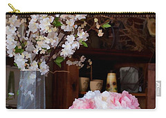 Floral Display Carry-all Pouch by Liane Wright