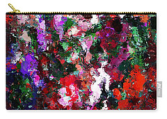 Floral Expression 021015 Carry-all Pouch by David Lane
