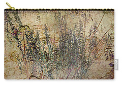 Carry-all Pouch featuring the photograph Floral Musings by Liz  Alderdice