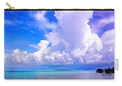 Florida Bay At Shell Pass Filtered Carry-all Pouch