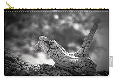 Carry-all Pouch featuring the photograph Florida Keys Driftwood by Bradley R Youngberg