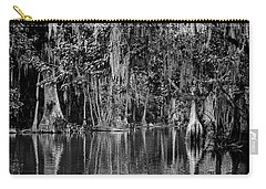 Florida Naturally 2 - Bw Carry-all Pouch by Christopher Holmes