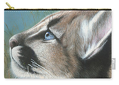 Carry-all Pouch featuring the painting Florida Princess by Mike Brown