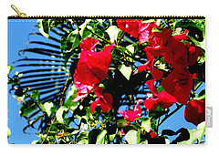 Carry-all Pouch featuring the photograph Florida Sky View by Oksana Semenchenko