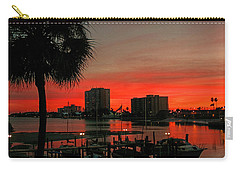 Carry-all Pouch featuring the photograph Florida Sunset by Hanny Heim