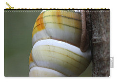 Carry-all Pouch featuring the photograph Florida Tree Snail by Paul Rebmann