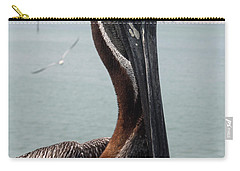 Carry-all Pouch featuring the photograph Florida's Finest Bird by David Nicholls