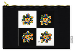 Flower Dance Carry-all Pouch