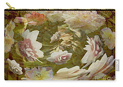 Carry-all Pouch featuring the photograph Flower Drift by Nareeta Martin