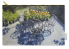 Flower Feast Carry-all Pouch