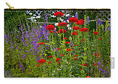 Carry-all Pouch featuring the photograph Flower Garden by Johanna Bruwer