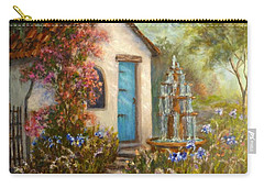 Flower Garden Paintings Carry-all Pouch