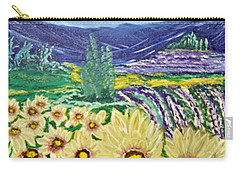 Flowers In August Carry-all Pouch