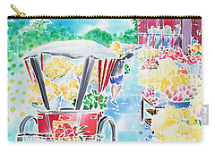 Flower Market  In Chiang Mai Carry-all Pouch