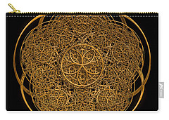 Flower Of Life Carry-all Pouch by Olga Hamilton