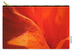 Peace And Death Flower Carry-all Pouch