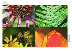 Flower Photo 4 Way Carry-all Pouch by Richard Thomas