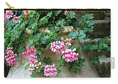 Carry-all Pouch featuring the photograph Flower Pot 8 by Allen Beatty