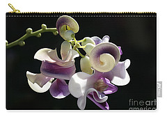 Flower-snail Flower Carry-all Pouch by Joy Watson