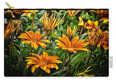 Flower Town Carry-all Pouch
