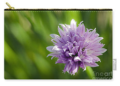 Flowering Chive Carry-all Pouch