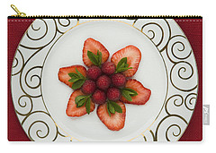 Flowering Fruits Carry-all Pouch by Anne Gilbert