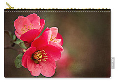 Flowering Quince Carry-all Pouch