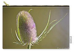 Flowering Teasel. Carry-all Pouch