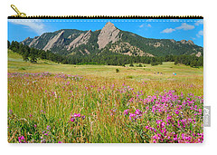 The Flatirons Colorado Carry-all Pouch