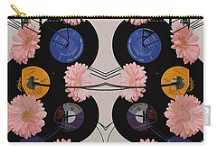 Flowers And Phonographs Carry-all Pouch