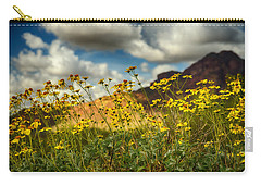 Flowers Are Food For The Soul  Carry-all Pouch