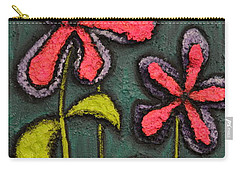 Flowers For Sydney Carry-all Pouch by Shawn Marlow