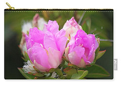 Carry-all Pouch featuring the photograph Flowers For You by Amy Gallagher
