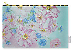 Flowers In A Vase. Inspirations Collection Carry-all Pouch