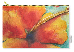 Carry-all Pouch featuring the painting Flowers In Bloom by Chrisann Ellis