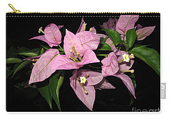 Carry-all Pouch featuring the photograph Flowers Island Lembongan by Sergey Lukashin