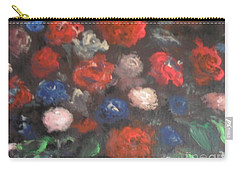 American Floral Carry-all Pouch