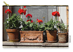 Carry-all Pouch featuring the photograph Flowers Of New York by Ira Shander