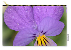 Carry-all Pouch featuring the photograph Flowers That Smile by Kerri Farley